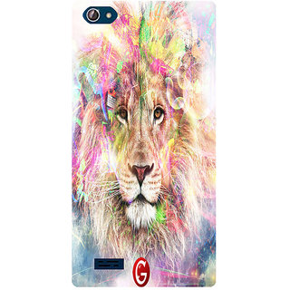 Amagav Printed Back Case Cover for Lava X50 301LavaX50