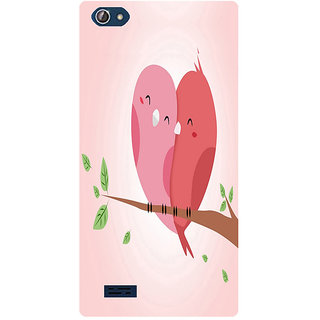 Amagav Printed Back Case Cover for Lava X50 309LavaX50