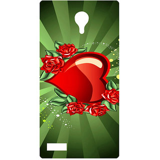 Amagav Printed Back Case Cover for Lyf Flame 7 401LfyFlame7