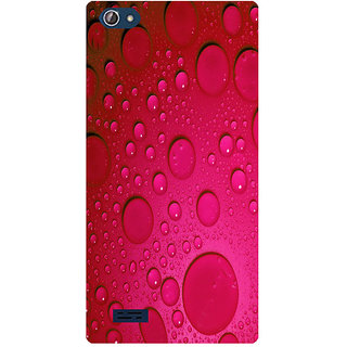 Amagav Printed Back Case Cover for Lava X50 420LavaX50