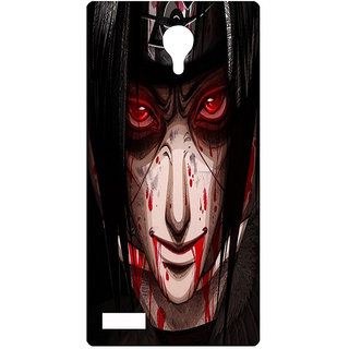 Amagav Printed Back Case Cover for Lyf Flame 7 597LfyFlame7