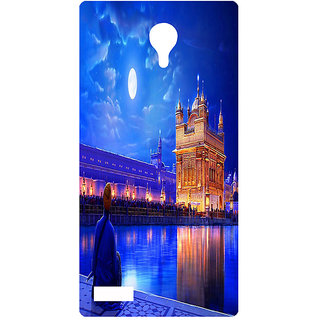 Amagav Printed Back Case Cover for Lyf Flame 7 65LfyFlame7