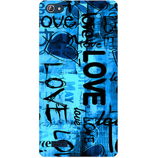 Amagav Printed Back Case Cover for Lava X50 664LavaX50
