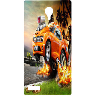 Amagav Printed Back Case Cover for Lyf Flame 7 85LfyFlame7