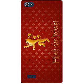 Amagav Printed Back Case Cover for Lava X50 374LavaX50