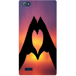 Amagav Printed Back Case Cover for Lava X50 47LavaX50