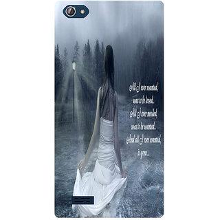 Amagav Printed Back Case Cover for Lava X50 79LavaX50