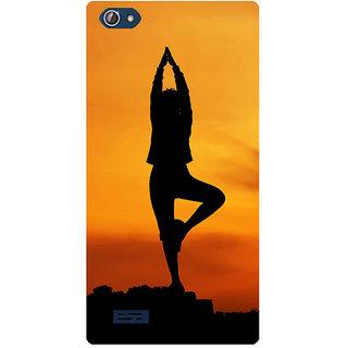Amagav Printed Back Case Cover for Lava X50 327LavaX50