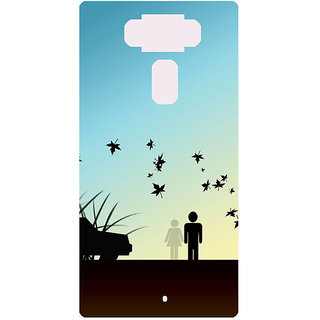 Amagav Printed Back Case Cover for Asus Zenfone 3 ZE552KL 478AsusZenfone3-ZE552KL