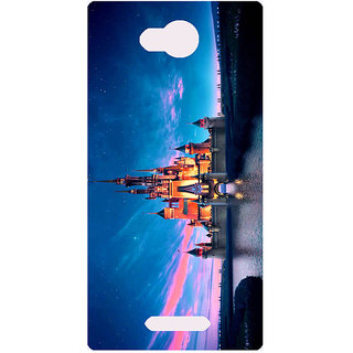 Amagav Printed Back Case Cover for Lava A68 489LavaA68