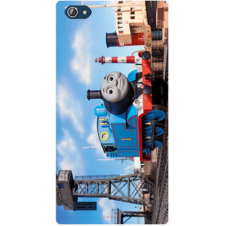 Amagav Printed Back Case Cover for Lava X50 556LavaX50