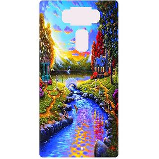 Amagav Printed Back Case Cover for Asus Zenfone 3 ZE552KL 94AsusZenfone3-ZE552KL