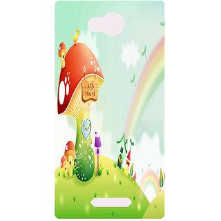 Amagav Printed Back Case Cover for Micromax Canvas Spark 3 167MmSpark3