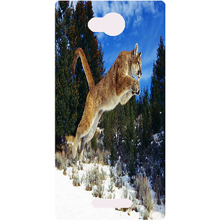 Amagav Printed Back Case Cover for Lava A59 183LavaA59