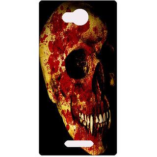 Amagav Printed Back Case Cover for Micromax Canvas Spark 3 31MmSpark3