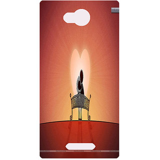 Amagav Printed Back Case Cover for Lava A68 45LavaA68