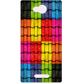 Amagav Printed Back Case Cover for Lava A68 543LavaA68