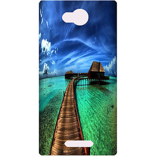 Amagav Printed Back Case Cover for Lava A68 56LavaA68