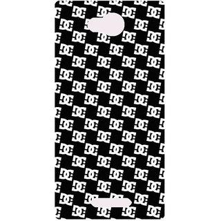 Amagav Printed Back Case Cover for Micromax Canvas Spark 3 600MmSpark3