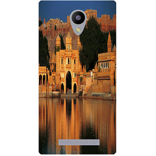 Amagav Printed Back Case Cover for Lava A48 228LavaA48