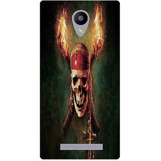 Amagav Printed Back Case Cover for Lava A48 238LavaA48
