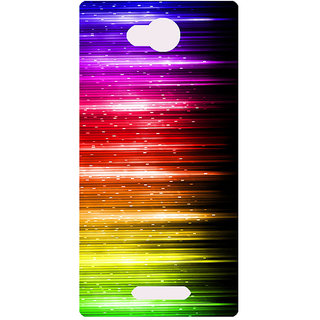 Amagav Printed Back Case Cover for Lava A59 321LavaA59