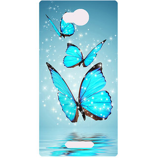 Amagav Printed Back Case Cover for Lava A59 397LavaA59