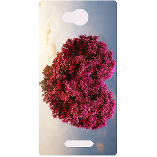 Amagav Printed Back Case Cover for Lava A59 405LavaA59
