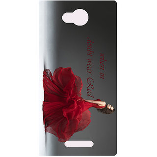 Amagav Printed Back Case Cover for Micromax Canvas Spark 3 442MmSpark3