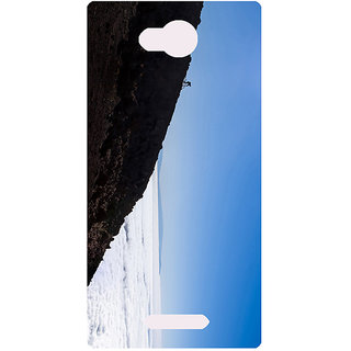 Amagav Printed Back Case Cover for Lava A59 635LavaA59
