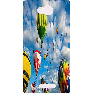 Amagav Printed Back Case Cover for Lava A59 241LavaA59