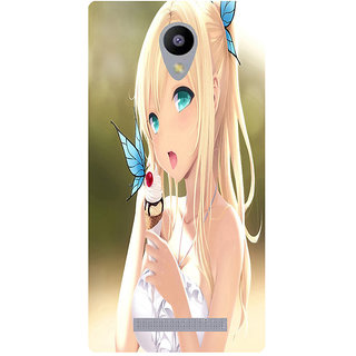 Amagav Printed Back Case Cover for Lava A48 108LavaA48