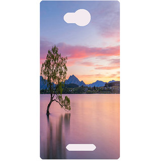 Amagav Printed Back Case Cover for Lava A59 13LavaA59