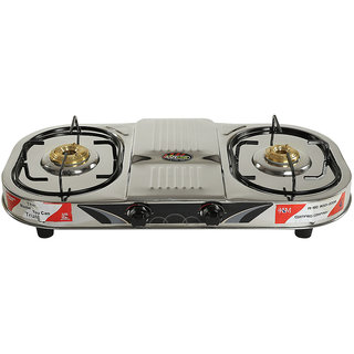 DoubleDecker Two Burner Gas Stove