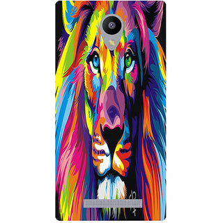 Amagav Printed Back Case Cover for Lava A48 306LavaA48