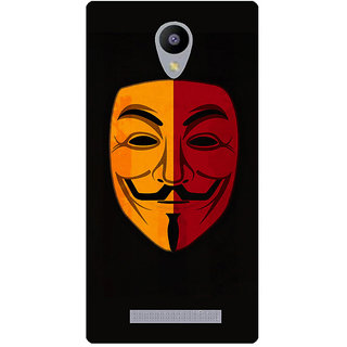 Amagav Printed Back Case Cover for Lava A48 330LavaA48