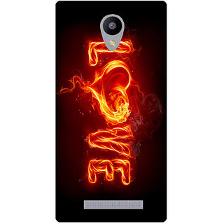 Amagav Printed Back Case Cover for Lava A48 443LavaA48