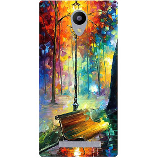 Amagav Printed Back Case Cover for Lava A48 565LavaA48