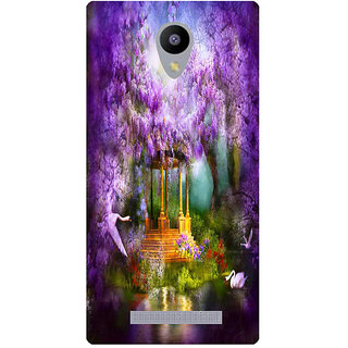 Amagav Printed Back Case Cover for Lava A48 250LavaA48