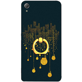 Casotec City Light Pattern Design 3D Printed Hard Back Case Cover for Sony Xperia Z3 Plus / Z4