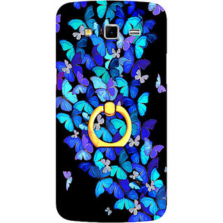Casotec Butterfly pattern Design 3D Printed Hard Back Case Cover for Samsung Galaxy Grand 2 G7102 / G7105