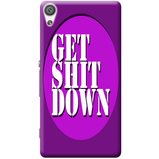 Sony XA Mobile Back Cover