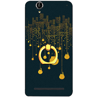 Casotec City Light Pattern Design 3D Printed Hard Back Case Cover for Sony Xperia T2 Ultra
