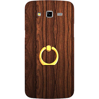 Casotec Wooden Texture Design 3D Printed Hard Back Case Cover for Samsung Galaxy Grand 2 G7102 / G7105