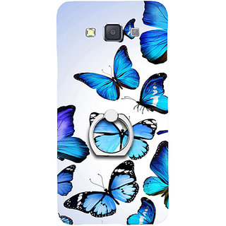Casotec Flying Butterfly Colorful Design 3D Printed Hard Back Case Cover for Samsung Galaxy A5
