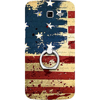 Casotec USA Flag Design 3D Printed Hard Back Case Cover for Samsung Galaxy Grand 2 G7102 / G7105