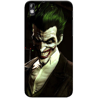 ColourCrust HTC Desire 816 / 816G Dual Sim Mobile Phone Back Cover With Wicked color joker - Durable Matte Finish Hard Plastic Slim Case