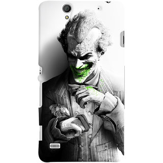 ColourCrust Sony Xperia C4 / Dual Sim Mobile Phone Back Cover With Joker - Durable Matte Finish Hard Plastic Slim Case