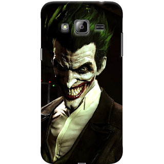 ColourCrust Samsung Galaxy J3 (2016) Mobile Phone Back Cover With Wicked color joker - Durable Matte Finish Hard Plastic Slim Case