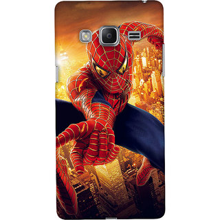 ColourCrust Samsung Galaxy Z3 Mobile Phone Back Cover With Spiderman - Durable Matte Finish Hard Plastic Slim Case